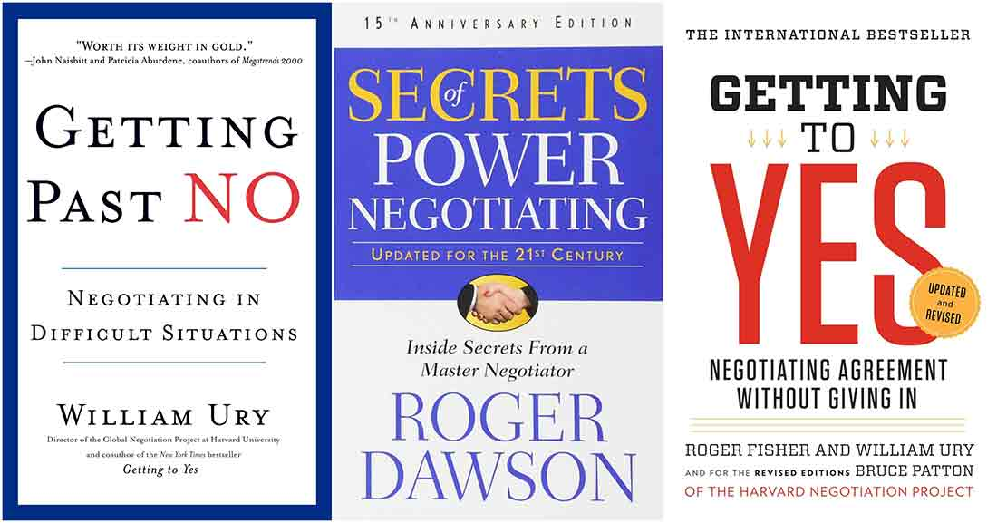 best books on negotiation