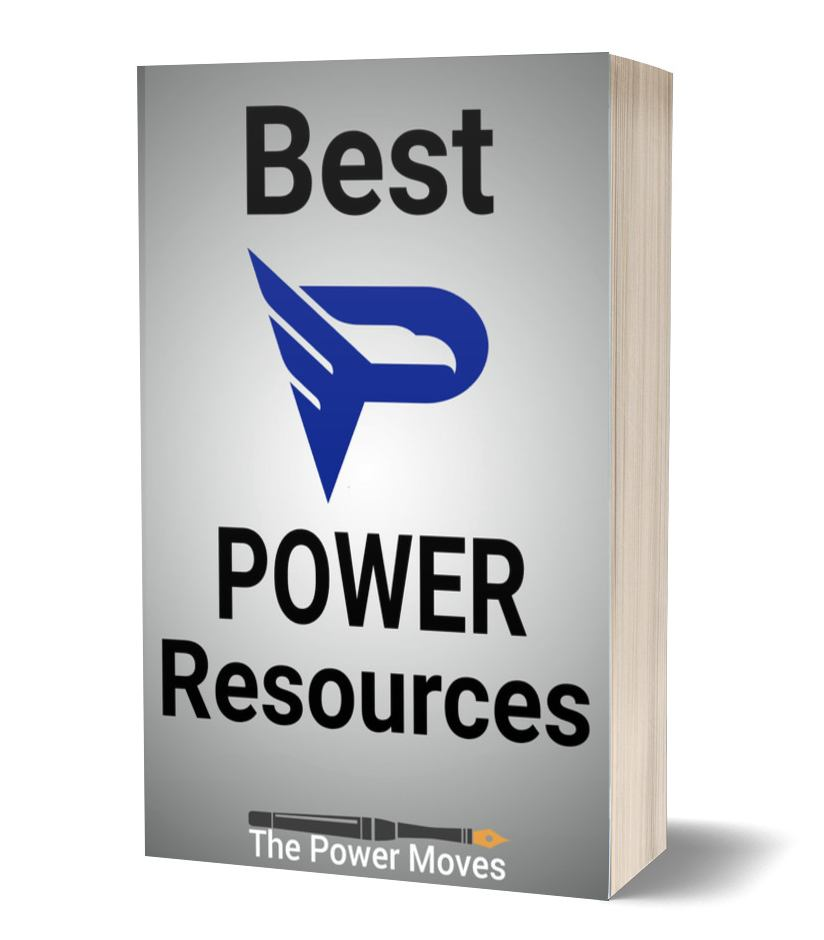 """book image with """"best power resources"""" writte on the cover"""