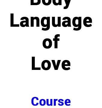 body language of love rievew