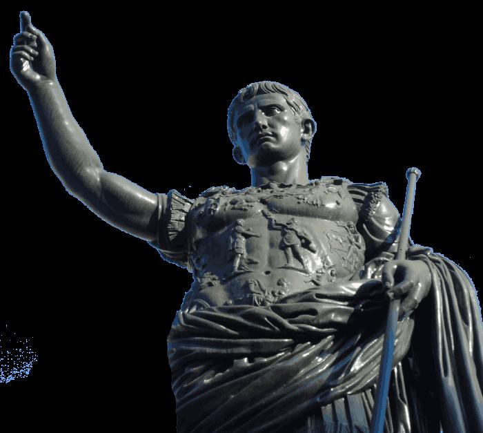 statue of cesar