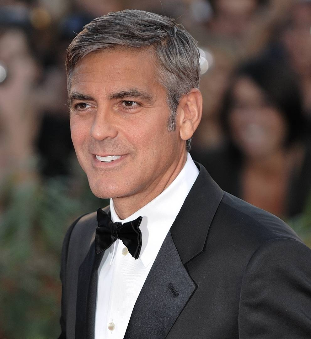george clooney in a tuxed