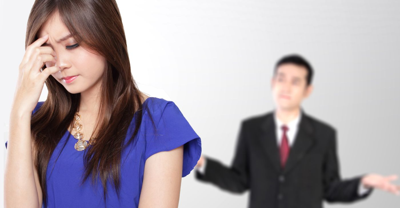 relationship problem because of male bad communication