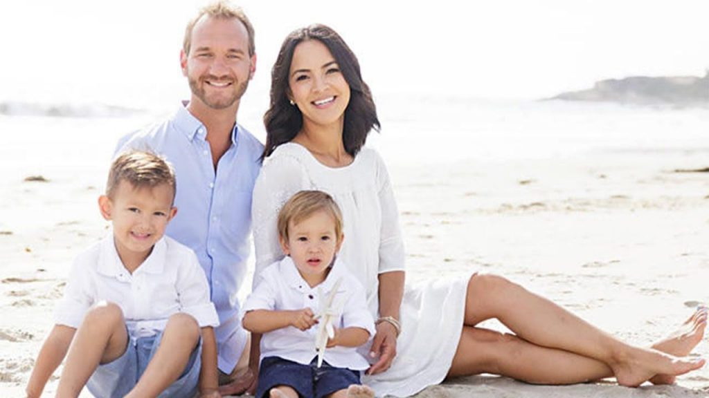 Nick Vujicic example of dating sucess overcoming the odds