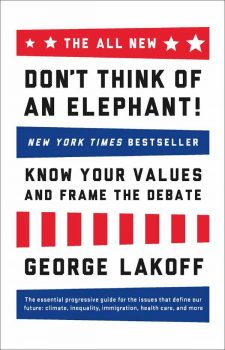 don't think of an elephant book cover