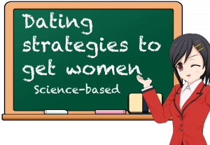 woman introducing effective dating strategies for men