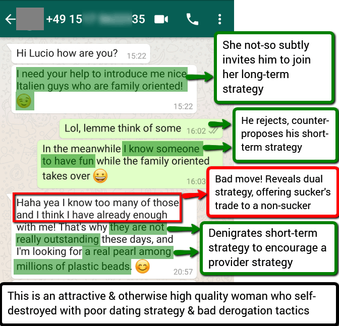 sexual strategy text example