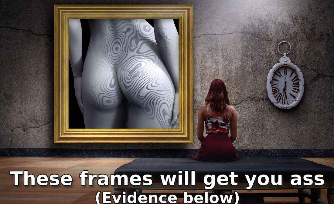 frame and women