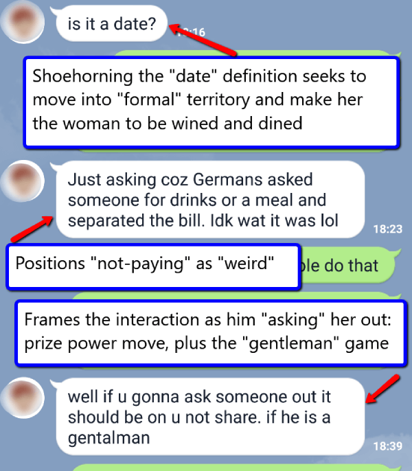 text with a game women play