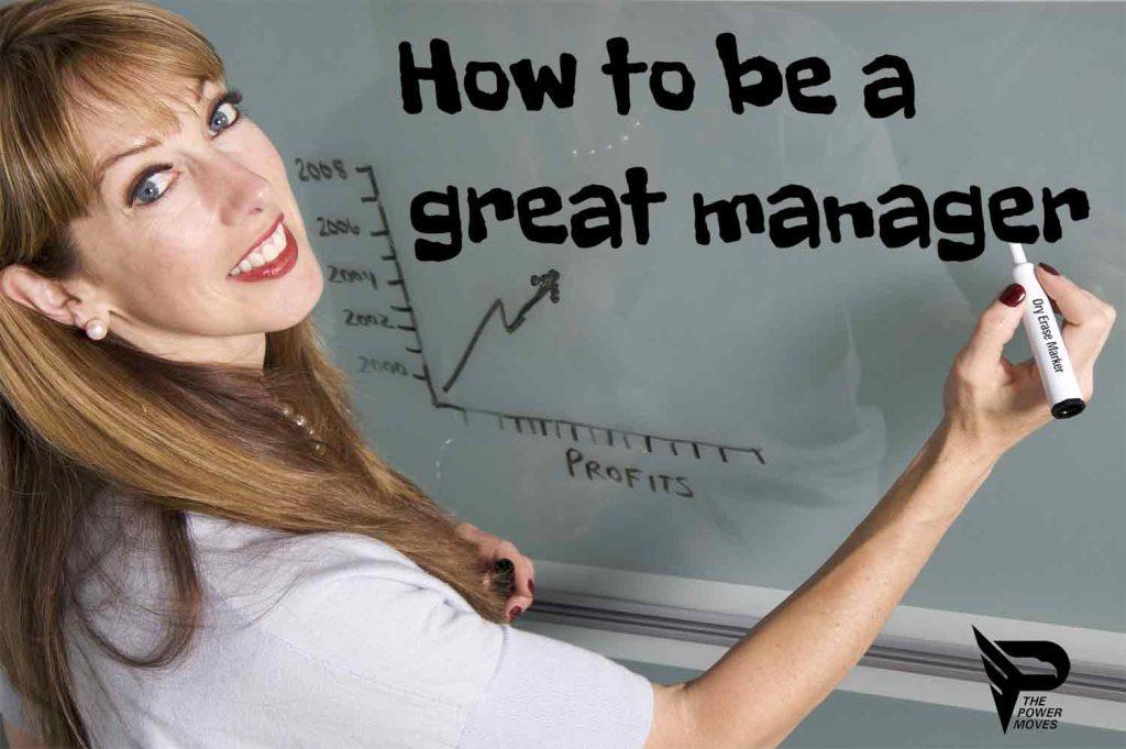 manager training whiteboard