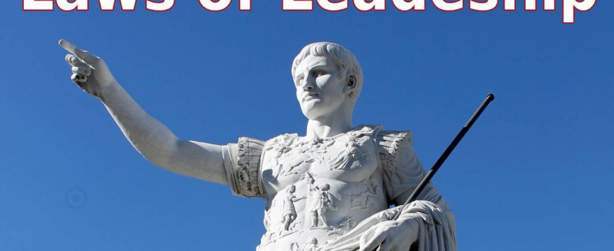 the laws of leadership
