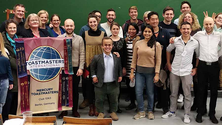A great toastmasters club with friendly environmnet
