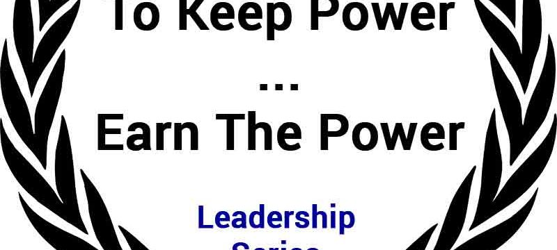 how to keep power
