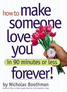 how to make someone love you forever in 90 minutes or less book cover