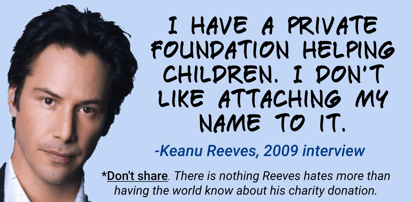 law of power example from keanu reeves