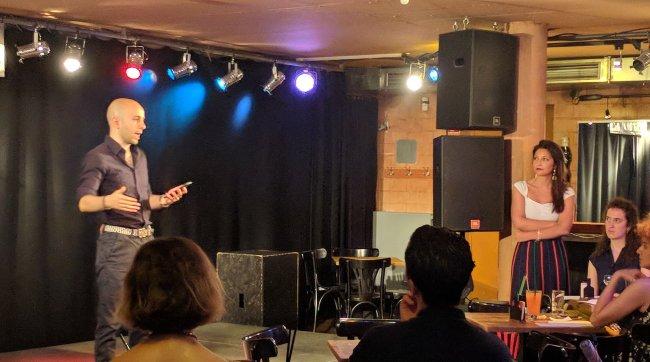 lucio on stage