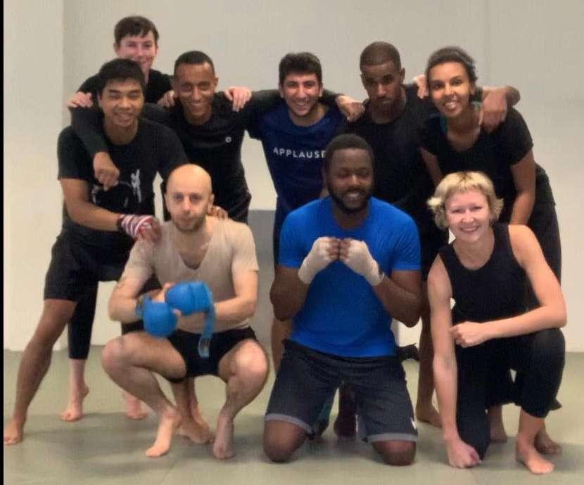 lucio buffalmano training MMA