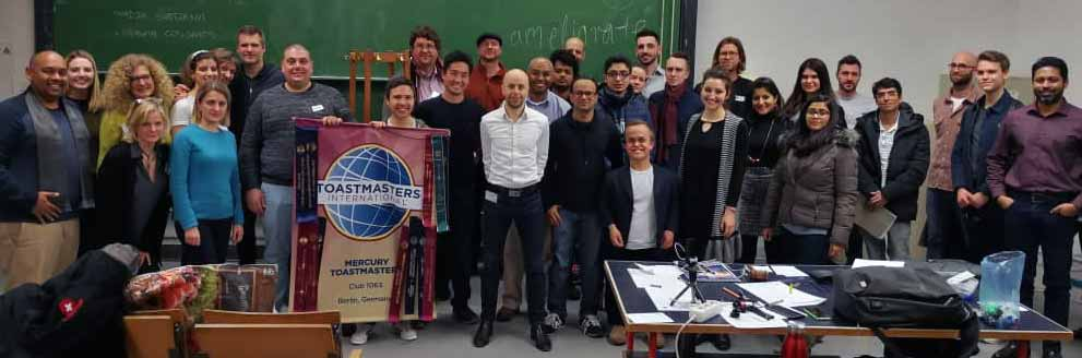 mercury toastmasters club with lucio as president