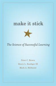 make it stick book cover