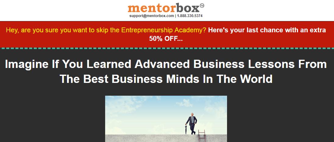 mentorbox sales techniques