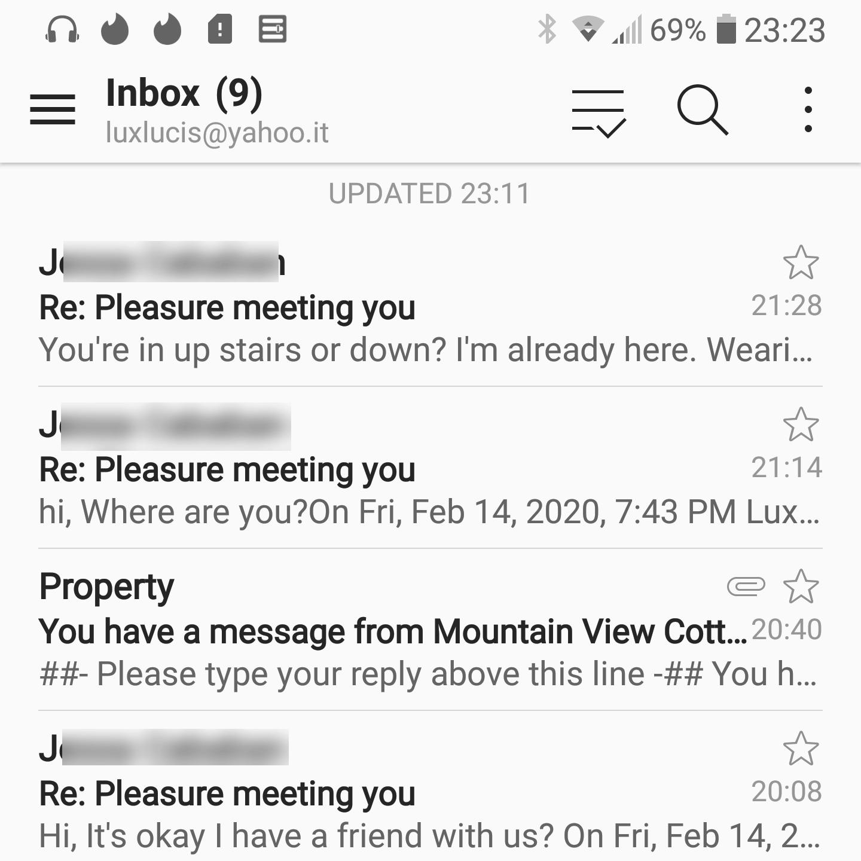 missed emails