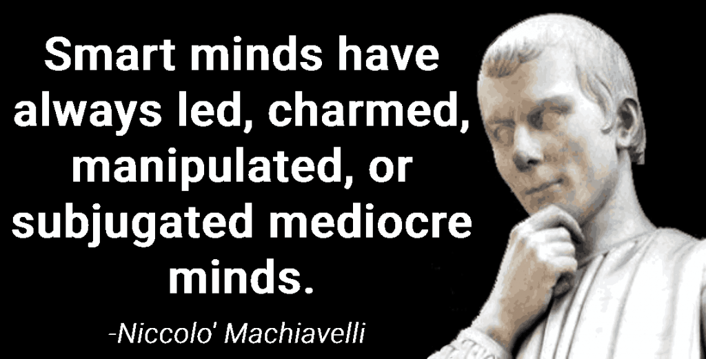 quote from Machiavelli