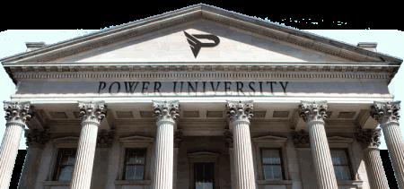 power university logo