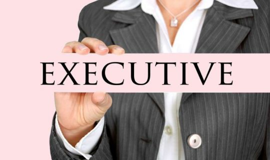 picture of a female executive