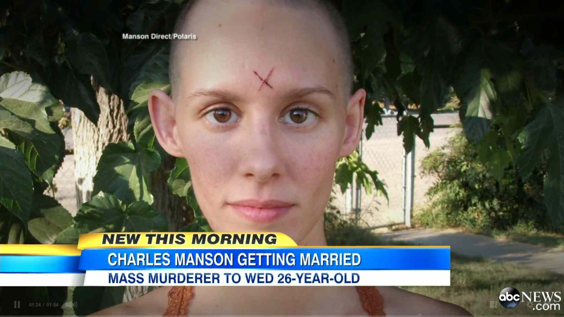 picture of the woman who wanted to marry charles manson