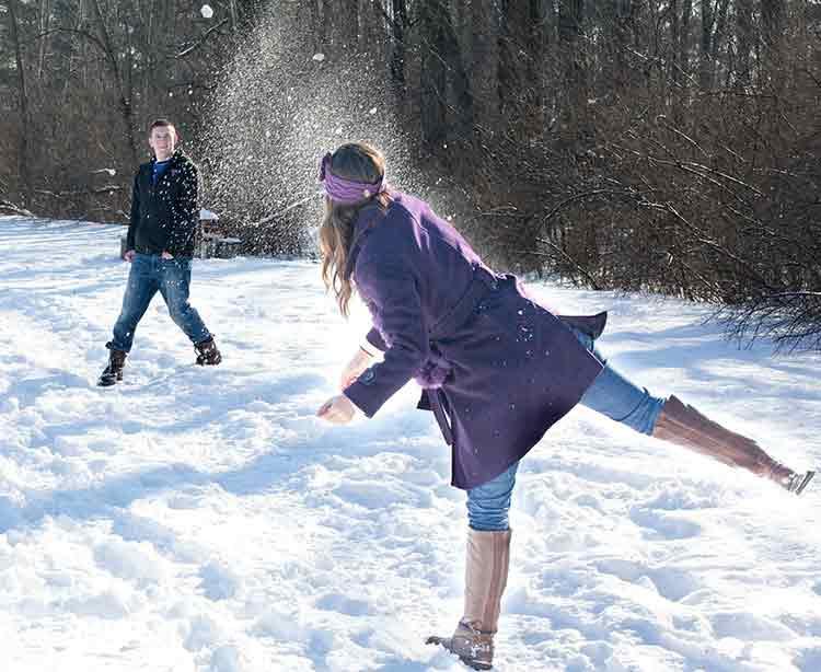 snowball war