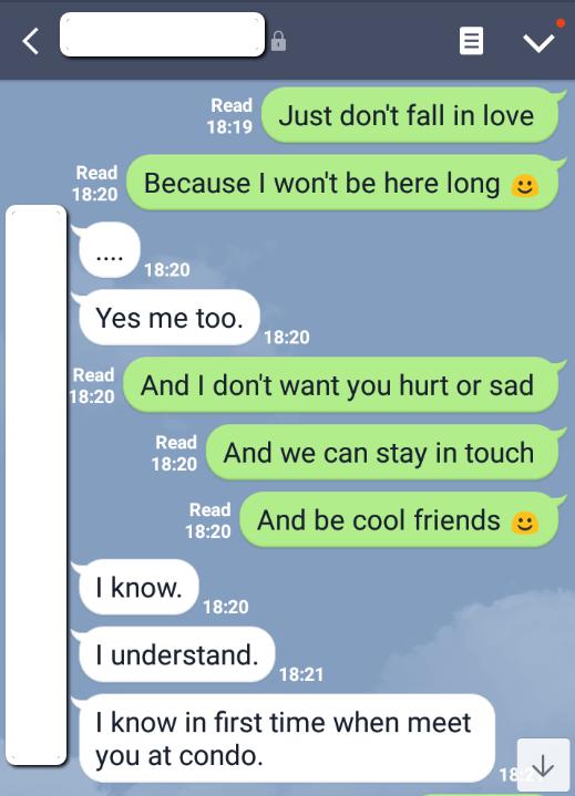 Thai girls dating text