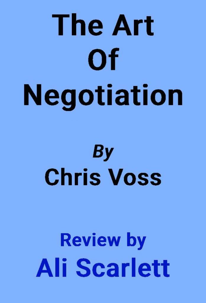the art of negotiation cover image