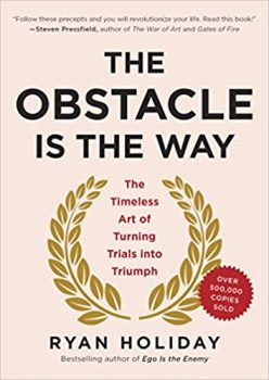the obstacle is the way book cover