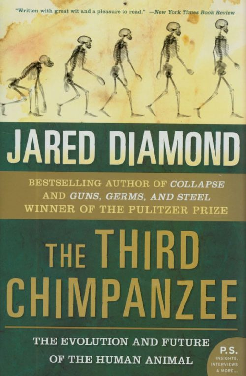 the third chimpanzee book cover