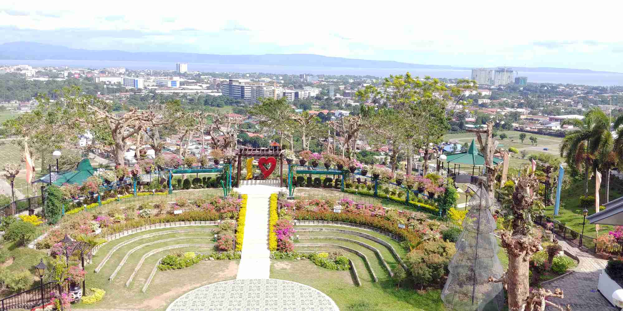 view from jackr's ridge in davao
