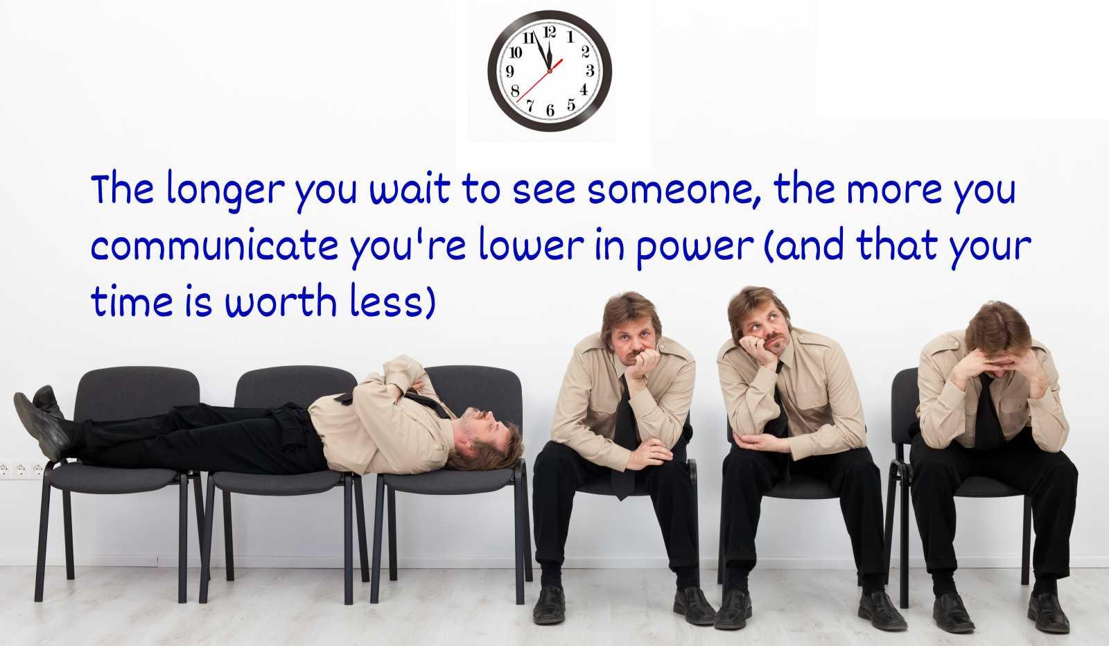 description of waiting power dynamics