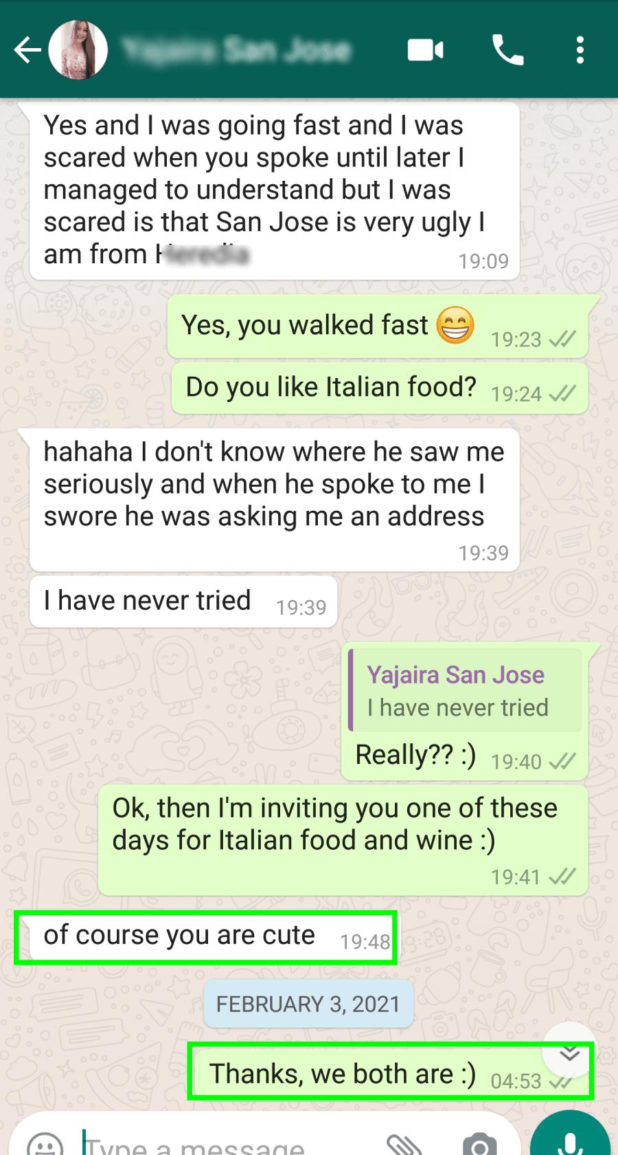 win-win text exchange example