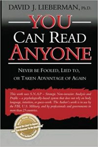 you can read anyone book cover